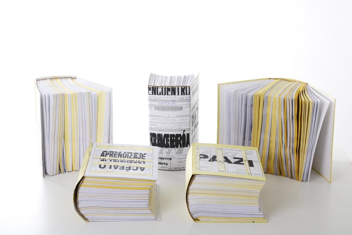 Papel reutilizado - 1 P/A - 5 copias
